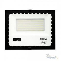 Refletor LED SMD 6500K 100w ip67